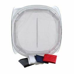 StudioKing fotografski šator 90x90x90cm sklopivi bijeli transparentni Foldable Photo Tent light cube LS-FF90 90x90