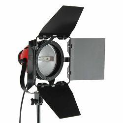 StudioKing Halogen Studio Light TLR800D 800W Dimmable halogena studijska lampa rasvjetno tijelo pinca pinza s dimmerom
