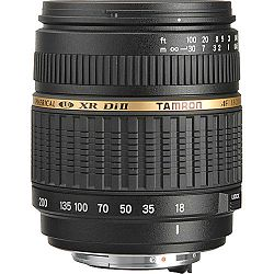TAMRON AF 18-200mm F/3.5-6.3 Di II XR LD Asp. [IF] Macro for Pentax