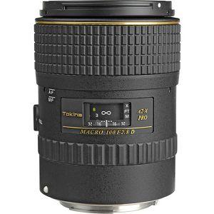 Tokina AT-X M100 PRO D 100mm F2.8 AF za Canon Macro Autofocus Lens