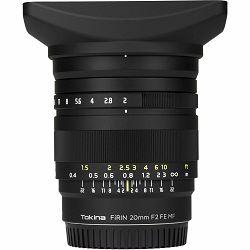 Tokina FiRIN 20mm f/2 FE MF Lens objektiv za Sony E-mount