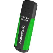 Transcend 64GB JF810 rugged black/green USB 3.0  drive