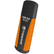 Transcend 8GB JF810 rugged black/orange USB 3.0  drive