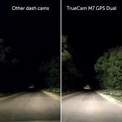TrueCam M7 Dual GPS dvostruka kamera za automobil, Full HD (1920x1080), G-Senzor, noćno snimanje, LCD monitor 2.0