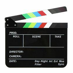 Universal studios klape za film Crne magnetne velike Production Slate Color Clapboard Director Scene