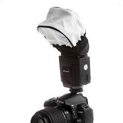 Univerzalni difuzor za bljeskalice soft bounce flash diffuser Canon Nikon Metz Sigma Yongnuo Meike Pixel Genesis Nissin Sunpak