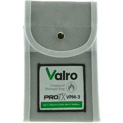 Valro ProTx fireproof storage bag for V-MOUNT and Gold Mount battery IATA certified vatrootporna vreća za čuvanje i skladištenje baterija (VPM-3)