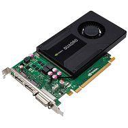 VC nVidia QUADRO K2000, 2Gb GDDR5/128bit, DVI-I+2xDP