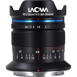 Venus Optics Laowa 14mm f4 FF RL Zero-D objektiv za Nikon Z