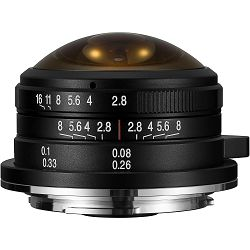 Venus Optics Laowa 4mm f/2.8 Fisheye objektiv za Olympus Panasonic MFT micro4/3