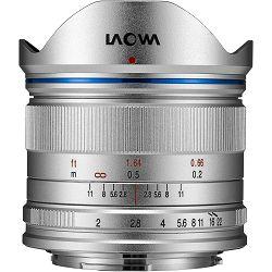 Venus Optics Laowa 7.5mm f/2 Standard Silver Srebreni ultra širokokutni objektiv za Olympus Panasonic MFT micro4/3