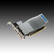 Video Card MSI GeForce 210 GDDR3, 1GB/64bit  589MHz/1000MHz ,PCI-E 2.0 x16, VGA, HDMI, DVI, Retail