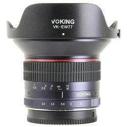 Voking 12mm F2.8 ultra širokokutni objektiv za Olympus Panasonic MFT (VK12-2.8-MFT) ultra-wide-angle lens