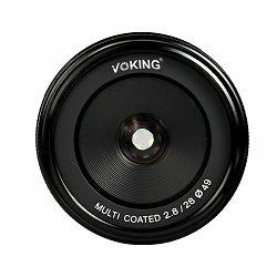 Voking 28mm F2.8 širokokutni objektiv za Canon EOS M (VK28-2.8-C)