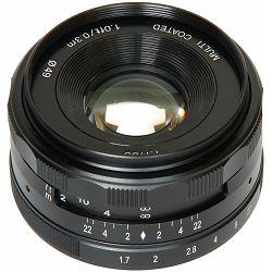 Voking 35mm F1.7 širokokutni objektiv za Panasonic/Olympus (VK35-1.7-MFT)