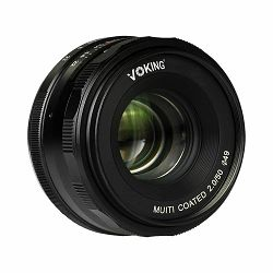 Voking 50mm f/2 standardni objektiv fiksne žarišne duljine za Canon EOS M (VK50-2.0-C)