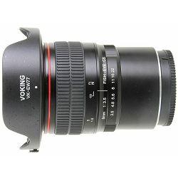 Voking 8mm f/3.5 fisheye objektiv za Sony E-mount (VK8-3.5-S) Fish-Eye prime lens f3.5 3.5 1:3.5