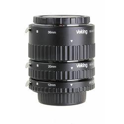 Voking macro prstenovi Auto fokus komplet za Nikon DSLR 13mm, 21mm, 31mm (VKET3-N)