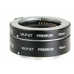 Voking macro prstenovi Auto fokus Premium komplet za Sony E-Mount 10mm i 16mm (VKET2P-S)