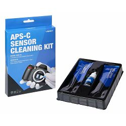VSGO DDR-16 APS-C Frame Sensor Cleaning Rod KIT komplet za čišćenje senzora 12x swab štapići + 15ml tekućina