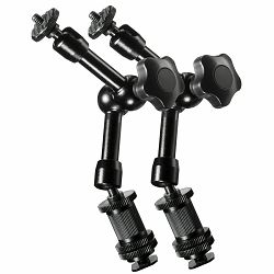 Walimex Pro Swivel Magic Arm 2x 18cm for DSLR Rigs and Dollys komplet dvije fleksibilne zglobne ruke nosivost 2kg