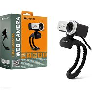 Web Camera CANYON CNR-FWC113 (1.3Mpixel, CMOS, USB 2.0) Black/Silver