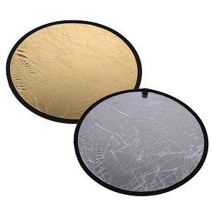 Weifeng dosvjetljivač 2u1 60cm zlatni srebreni disk reflektirajući
