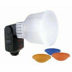 Weifeng Lightsphere bounce difuzor C4 za Canon 430, 550, 580,  600EX RT, Yongnuo, Metz