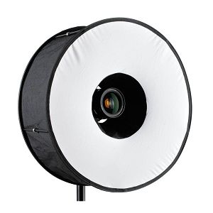 Weifeng Ring-Flash Collapsible round flash softbox 45cm