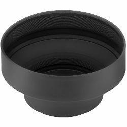 Weifeng univerzalno gumeno sjenilo lens hood za objektive s navojem 55mm