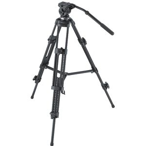Weifeng WT-6717 Video Tripod + video head + 75mm Bowl