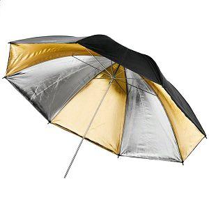Weifeng zlatno srebreni reflektirajući 90cm foto studijski kišobran gold silver Reflex Umbrella