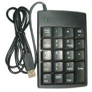 Wiretech USB num. tipkovnica+USB hub 2port