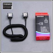 Yongnuo FC-681/S TTL off-camera shoe cord OC-E3 sinkronizacijski TTL kabel za Canon