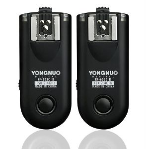 Yongnuo RF-603 II C3 RF-603IICX2-C3 Canon wireless flash trigger