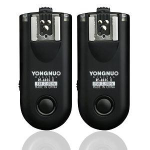 Yongnuo RF-603 II C3 RF-603IICX2-C3 Canon wireless flash trigger