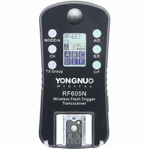 Yongnuo RF-605 Wireless Transceiver Kit Nikon set of two RF-605-N II