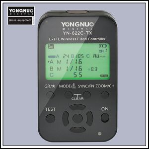 Yongnuo YN622C-TX E-TTL HSS wireless flash controller za Canon
