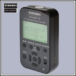 Yongnuo YN622N-TX i-TTL HSS wireless flash controller za Nikon