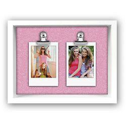 ZEP Funny pink Insta 2x2.3x8.5cm Wooden Frame TD19P okvir za instax fotografije