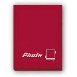 ZEP Insta Wide Red 8.5x10.5cm 40 photos Slip-In Album IS8540R crveni foto album za 40 instant fotografija