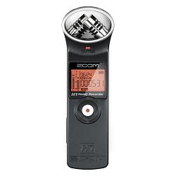 Zoom H1 V2 Ultra-Portable Digital Audio Recorder (Black) prijenosni ručni snimač zvuka