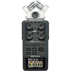 Zoom H6 Handy Recorder with Interchangeable Microphone System prijenosni snimač zvuka