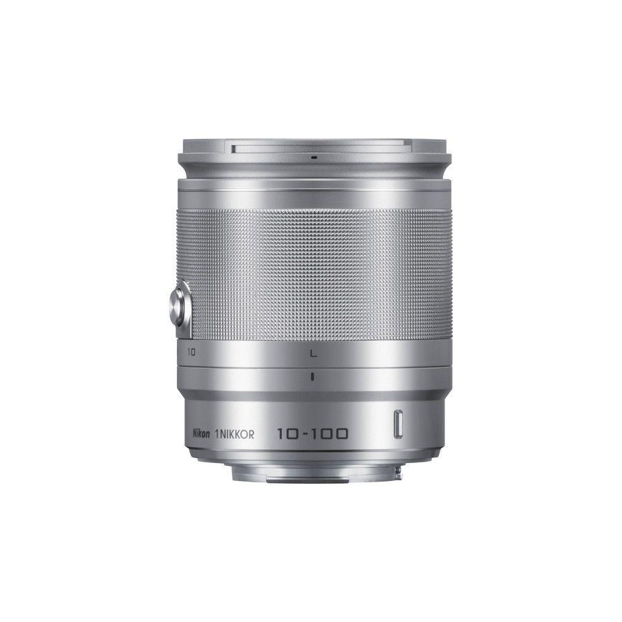 1 NIKKOR VR 10-100mm f/4.0-5.6 Silver Nikon objektiv