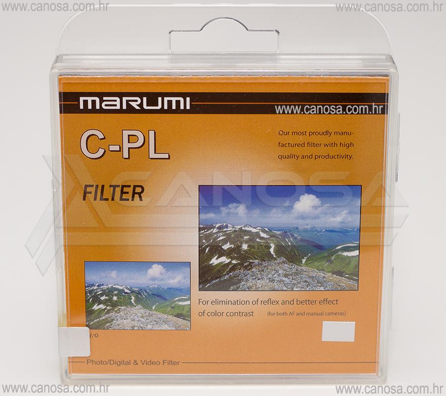 Marumi CPL C-PL Polarizator cirkularni filter 72mm Standard