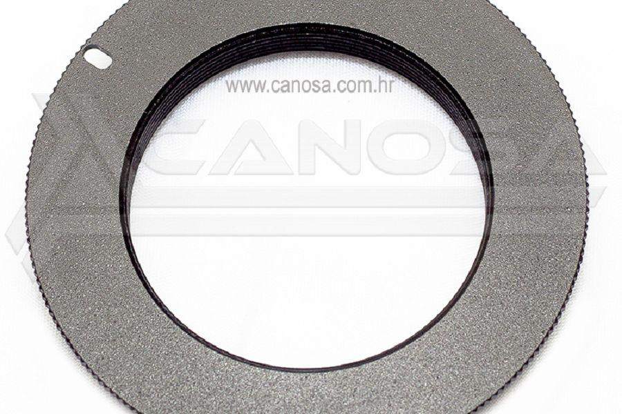 Adapter M42 objektiv na Nikon F mount DSLR fotoaparat