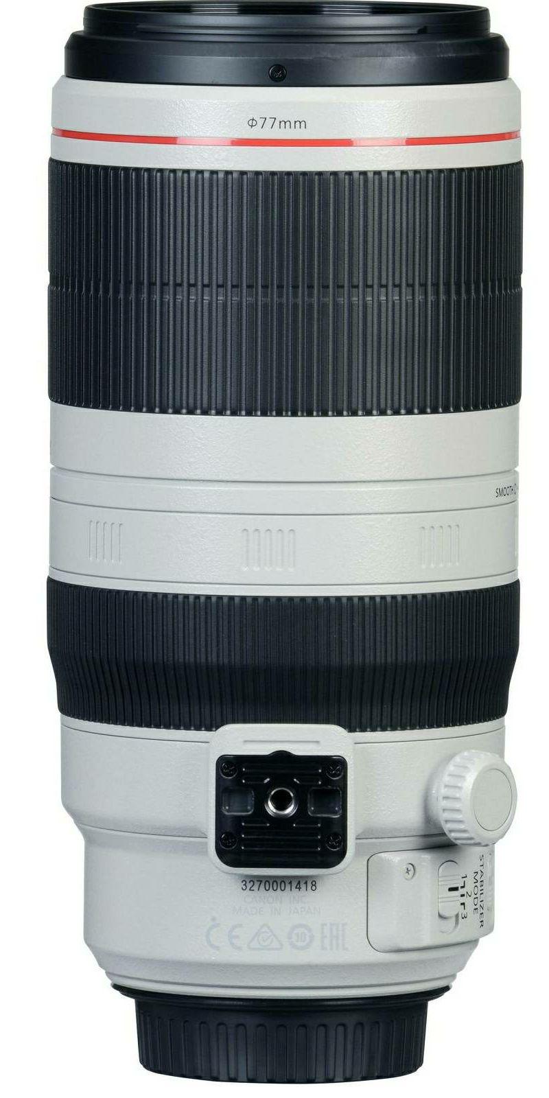 Canon EF 100-400mm f/4.5-5.6L IS II USM telefoto objektiv zoom lens 100-400 4.5-5.6 L (9524B005AA)
