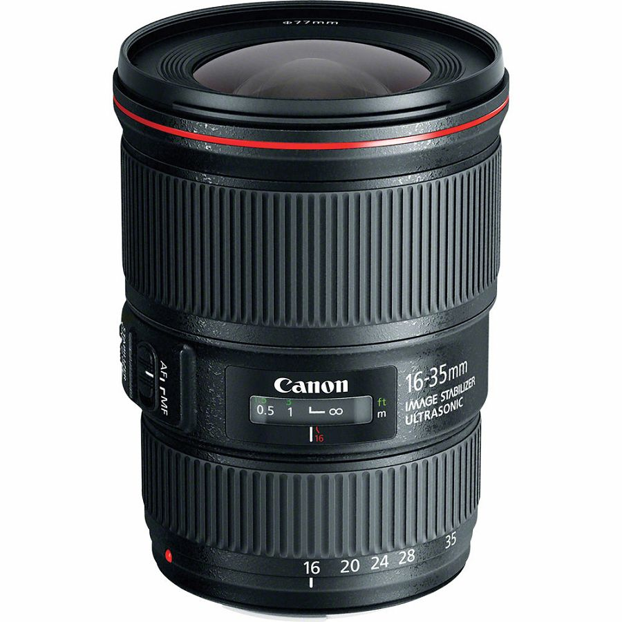 Canon EF 16-35mm f/4 L IS USM širokokutni objektiv wide angle zoom lens 16-35 F4L 4.0 F4 (9518B005AA)