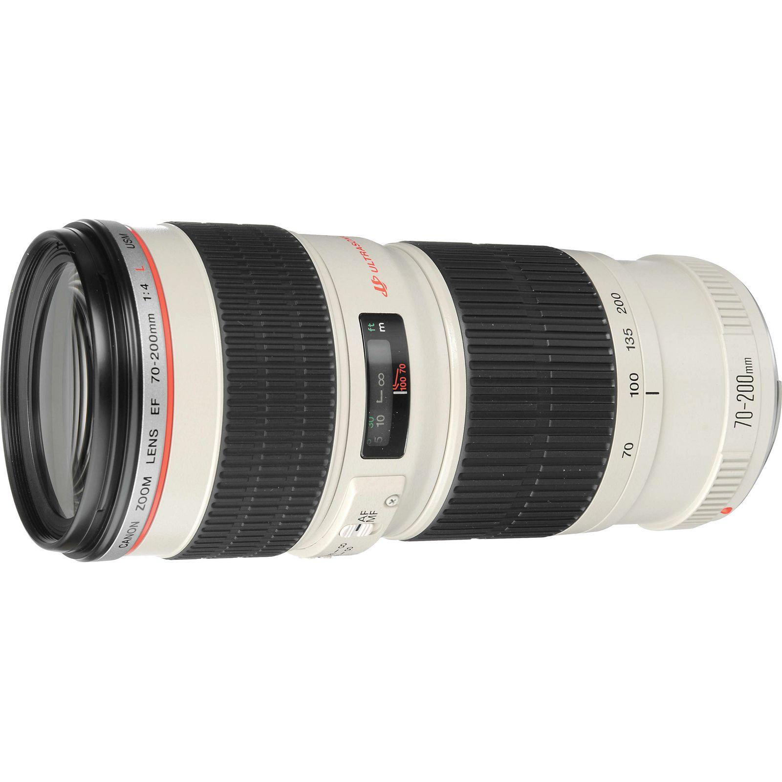Canon EF 70-200mm f/4 L USM telefoto objektiv zoom lens 70-200 F4 4.0 1:4,0L f/4L F/4.0 (2578A009AA) - CASH BACK promocija povrat novca u iznosu 370 kn