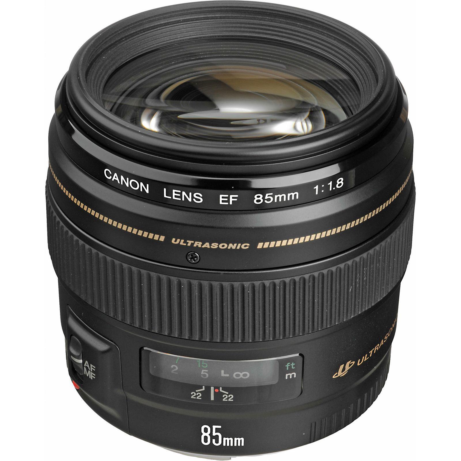 Canon EF 85mm f/1.8 USM portretni telefoto objektiv 85 1.8 1,8 (2519A012AA)